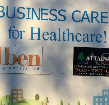 Aben Graphics and Attainable Solutions Inc are the latest Business Cares supporters (supplied photo)