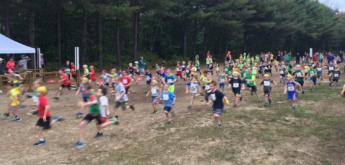 Students from across Muskoka gathered at Arrowhead Provincial Park for the annual Hoya Hills XC Invitational (Photo: Kim Small)