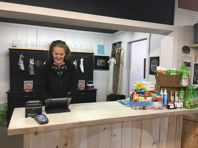 Meredith loves meeting Valley Feeds North's customers, both new and old