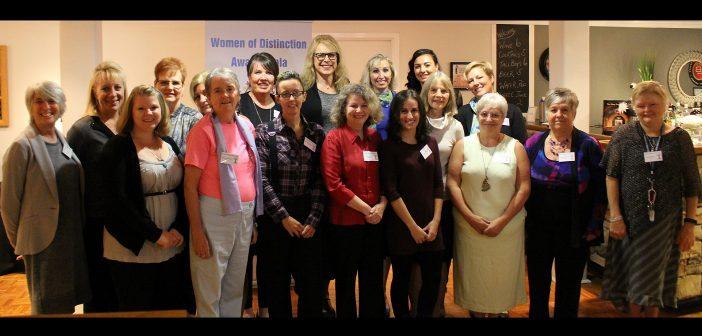 The 2017 YWCA Muskoka Women of Distinction nominees
