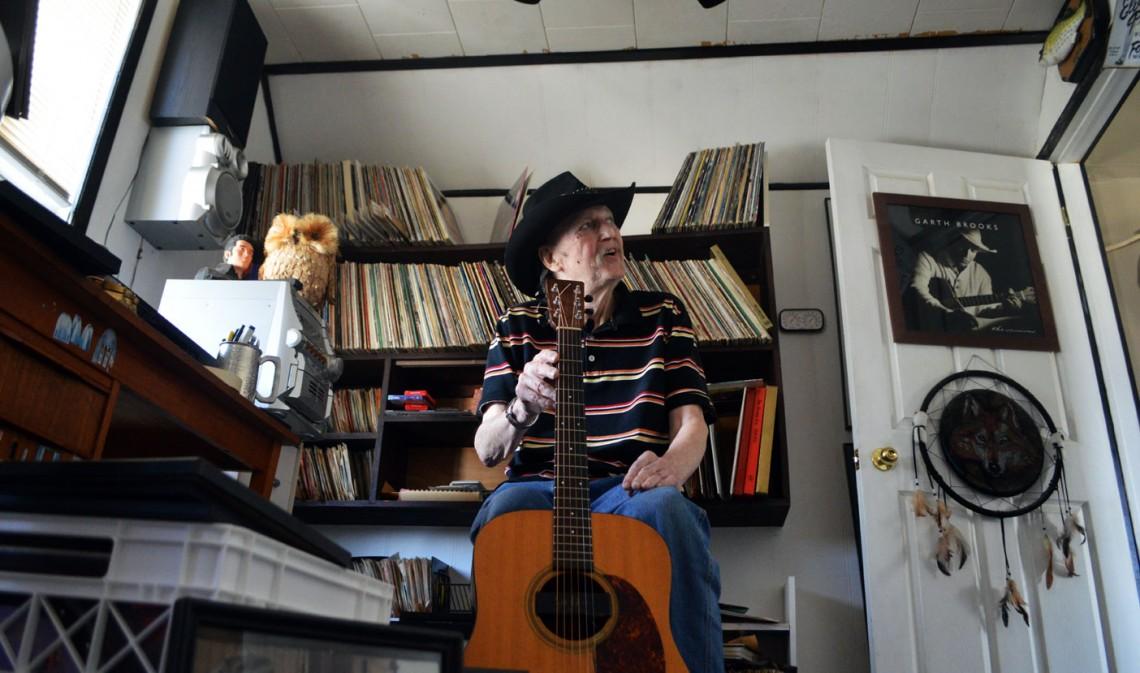 Garry Wayne will assure you: music feeds the soul...