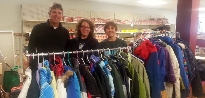 Winter coats collected in Huntsville are donated to The Table Soup Kitchen
