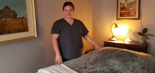 Kyley Duncan of Balance Registered Massage Therapy is one of three local businesswomen who will be donating a day of profit to the YWCA December 6 Fund