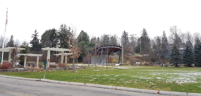 Councillor Jonathan Wiebe has proposed that River Mill Park could be improved with the planting of a few trees and the addition of more chairs