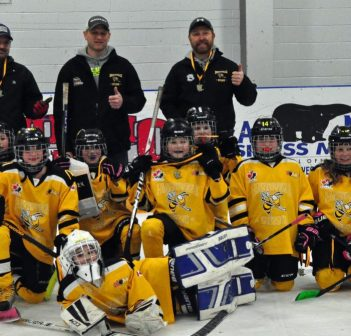 First ever gold for young Huntsville girls' league at home tournament