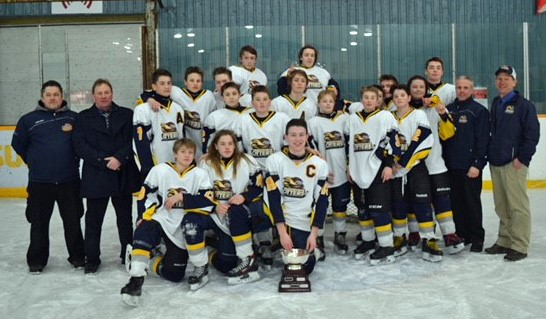 The Tawingo Bantam Rep Otters are MPS Champs, too
