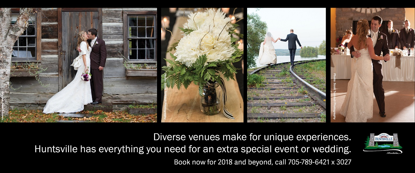 Yes a muskoka wedding can be both beautiful and for Wedding venues huntsville al