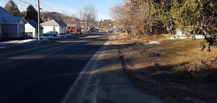 Cann Street looking toward Chaffey Street