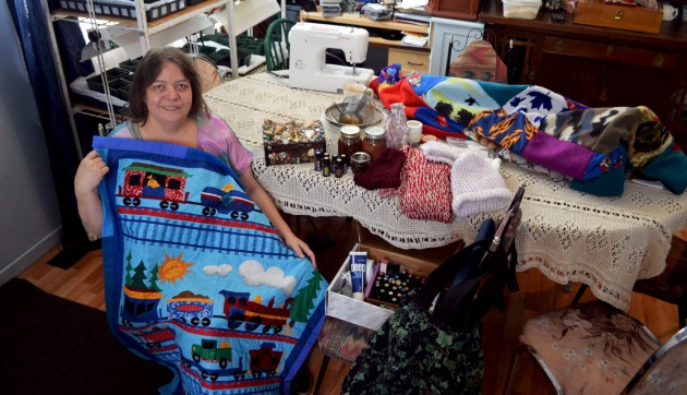Joy Nixon-Botting embraces the old-fashioned way of keeping busy...
