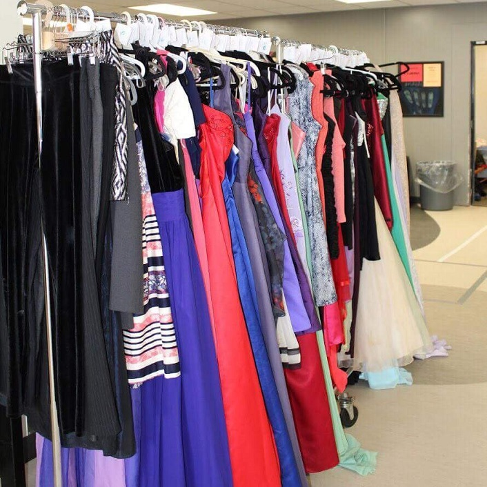 HHS prom drive gathers men's and women's formal wear to ...