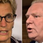 Kathleen Wynne and Doug Ford (Images: cbc.ca)