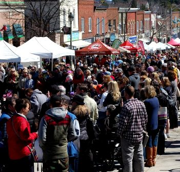 The Muskoka Maple Festival is one of several annual events that draws a crowd from near and far (Doppler file photo)