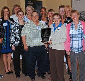 The 1982 Huntsville Honeys rekindled old friendships at the Huntsville Sports Hall of Fame induction ceremony