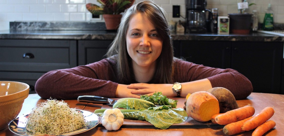 Morgan Richter is passionate about healthy local food