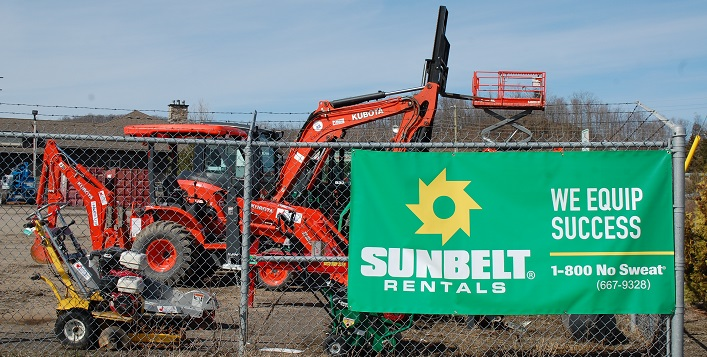 Sunbelt Rentals, formerly CRS Contractors Rental Supply, offers an expanded selection of rental equipment for both property owners and contractors