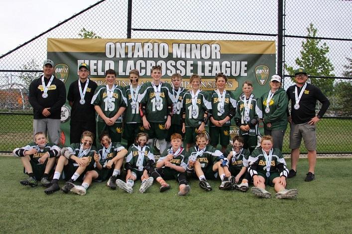 Hawks U15 take silver at provincials