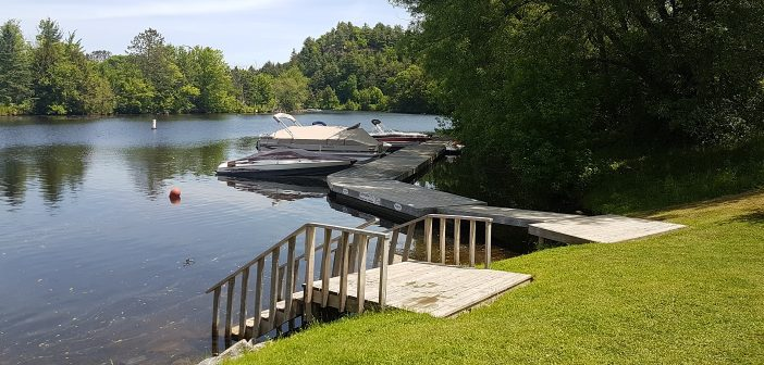 The town has reached an agreement with the owner of the dock and boat slips at Memorial Park