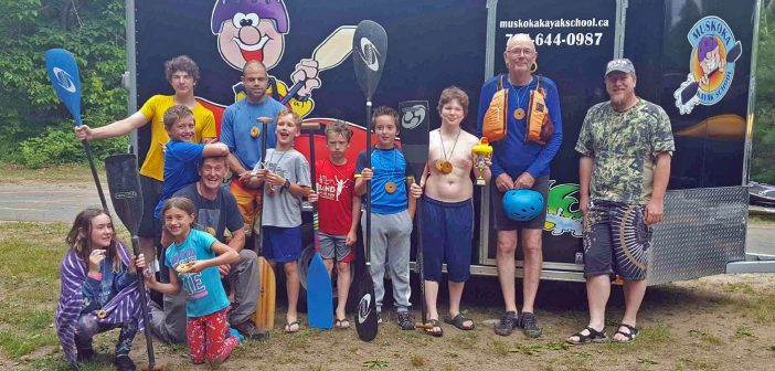 Muskoka Kayak School's cookie race is a fun day for all ages (supplied photo)