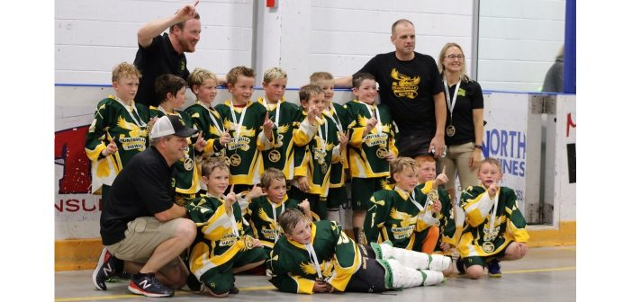 The 2018 Tyke Hawks at the Jack Bionda Shootout (supplied photo)