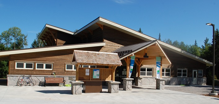 The new Arrowhead Provincial Park visitor centre was almost 20 years in the making.
