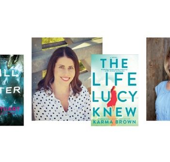 Amy Stuart, Karma Brown and Marissa Stapley will talk about their new books at the first in the 2018 Books and Brunch series