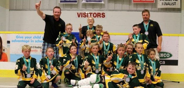 The Preston Heating Tyke 1 Hawks took gold at the Dan Greer Tournament in Clarington (supplied photo)