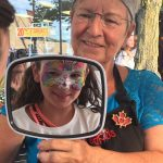 Painted Kids transformed festival-goers into a variety of magical creatures