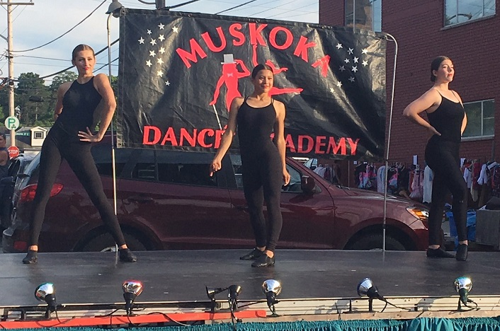 Muskoka Dance Academy dancers strut their stuff on stage