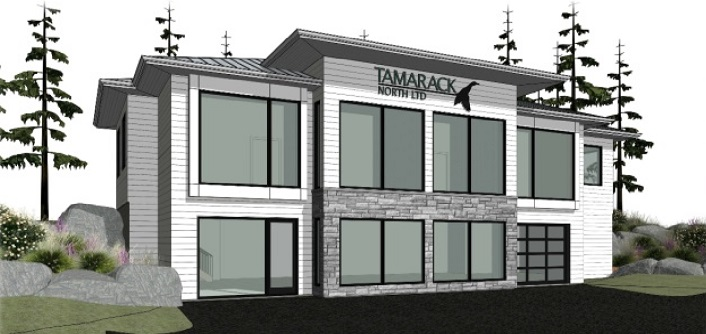 A rendering of the proposed Tamarack North building (Image supplied by Huntsville's Planning Committee)