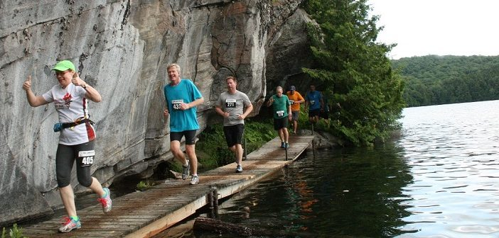 Racers have gorgeous views to enjoy during The Limberlost Challenge (supplied photo)