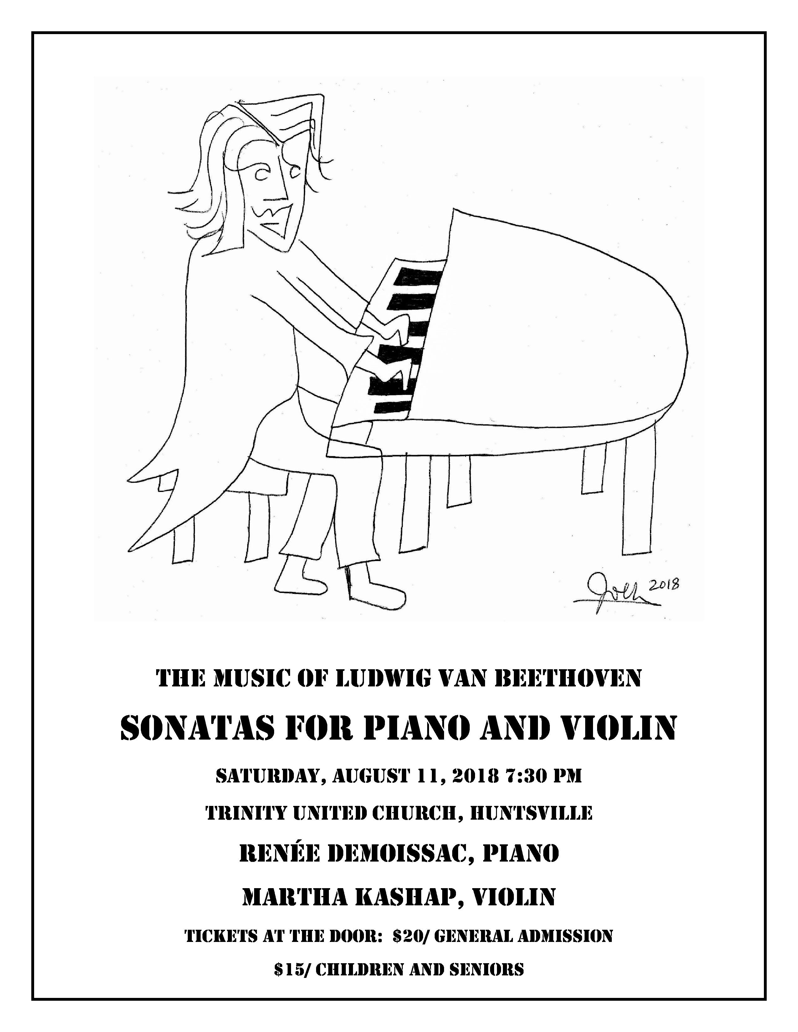 Beethoven Violin Sonatas - Huntsville Doppler