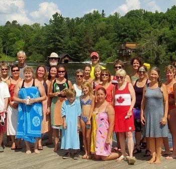 The 2018 Swim for Hospice participants