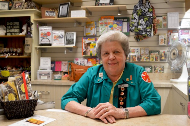 After close to 20 years as a Huntsville Hospital Auxiliary volunteer, Irene Parker is as happy being of service today as she was when she first started.