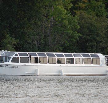 The Tom Thomson on Peninsula Lake near Deerhurst in September 2018
