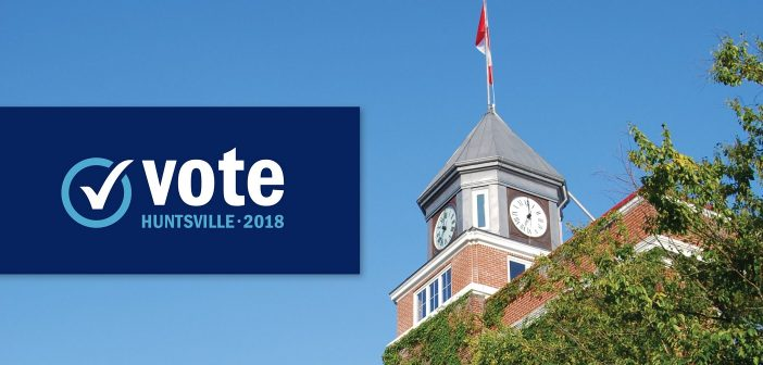 Huntsville Votes 2018 (Image: huntsville.ca)