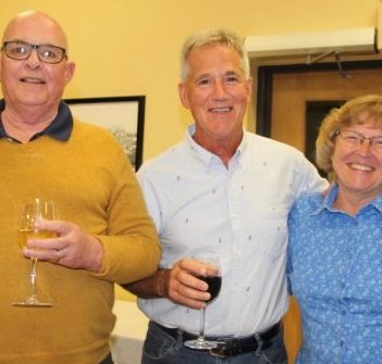 (From left) Jim Alexander, Festival Founder, Hugh Mackenzie, Former Festival Chair, Rob Saunders and Sharon and John Koncan, Festival Benefactors