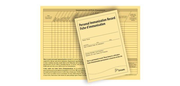 Ontario immunization record (Image: simcoemuskokahealth.org)