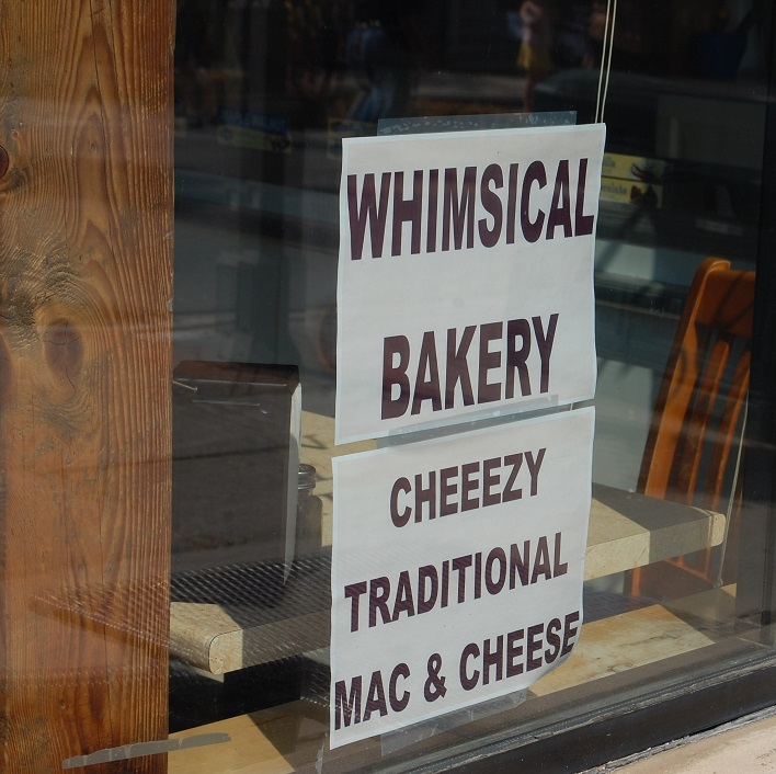 Whimsical Bakery's Cheeezy Traditional Mac and Cheese was sold out by 2 p.m.