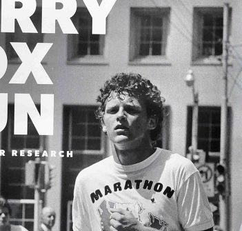 Terry Fox Run Coordinator Sharon Stahls