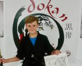 Black Belt: an incredible milestone for young local martial artist