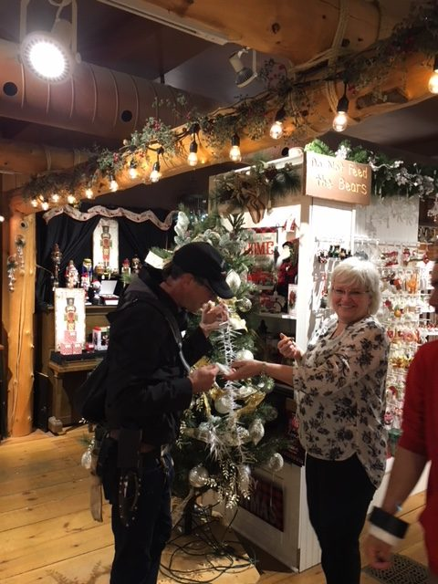 A Veterans Christmas.Local Business Became More Than Just Part Of The Backdrop