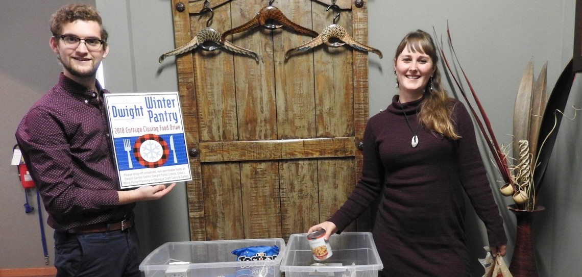 Scott Wilson and Lena Craymer for Dwight Winter Pantry (supplied)