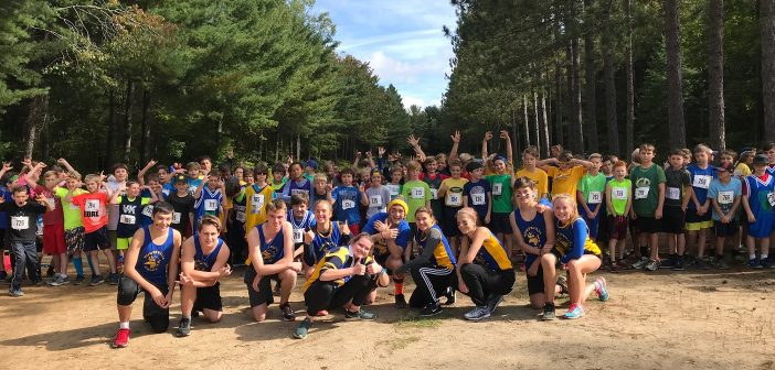 Hoya Hills Cross-Country Invitational 2018 group photo