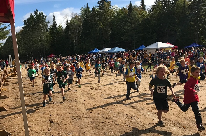 Future Hoyas? The annual Hoya Hills Invitational encourages local students to get involved, and stay involved, in cross-country running. (Photo courtesy of Jen Rosewarne)