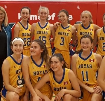 HHS Junior Girls Basketball team is off to a hot start this season