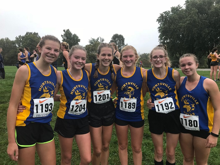 Hoyas cross-country runners at Pre-OFSAA (Photo courtesy of Jen Rosewarne)