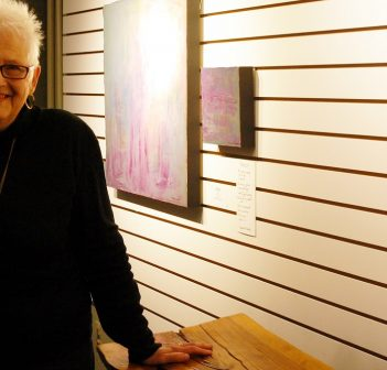 Roberta Twaddle's exhibition Learning To Walk Again is on display at Partners Hall until October 31
