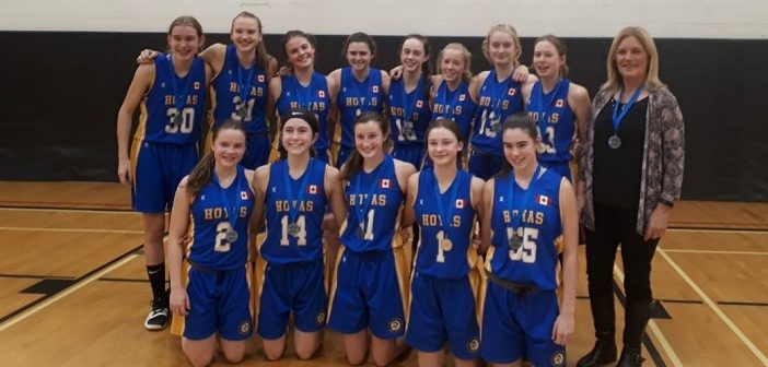 The Hoyas junior girls basketball team are 2018 GBSSA champions! (supplied)
