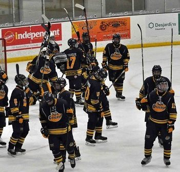 The Junior C Otters won at home on November 18