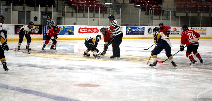 Puck drop at the 2018 Winston Watson Memorial Tournament